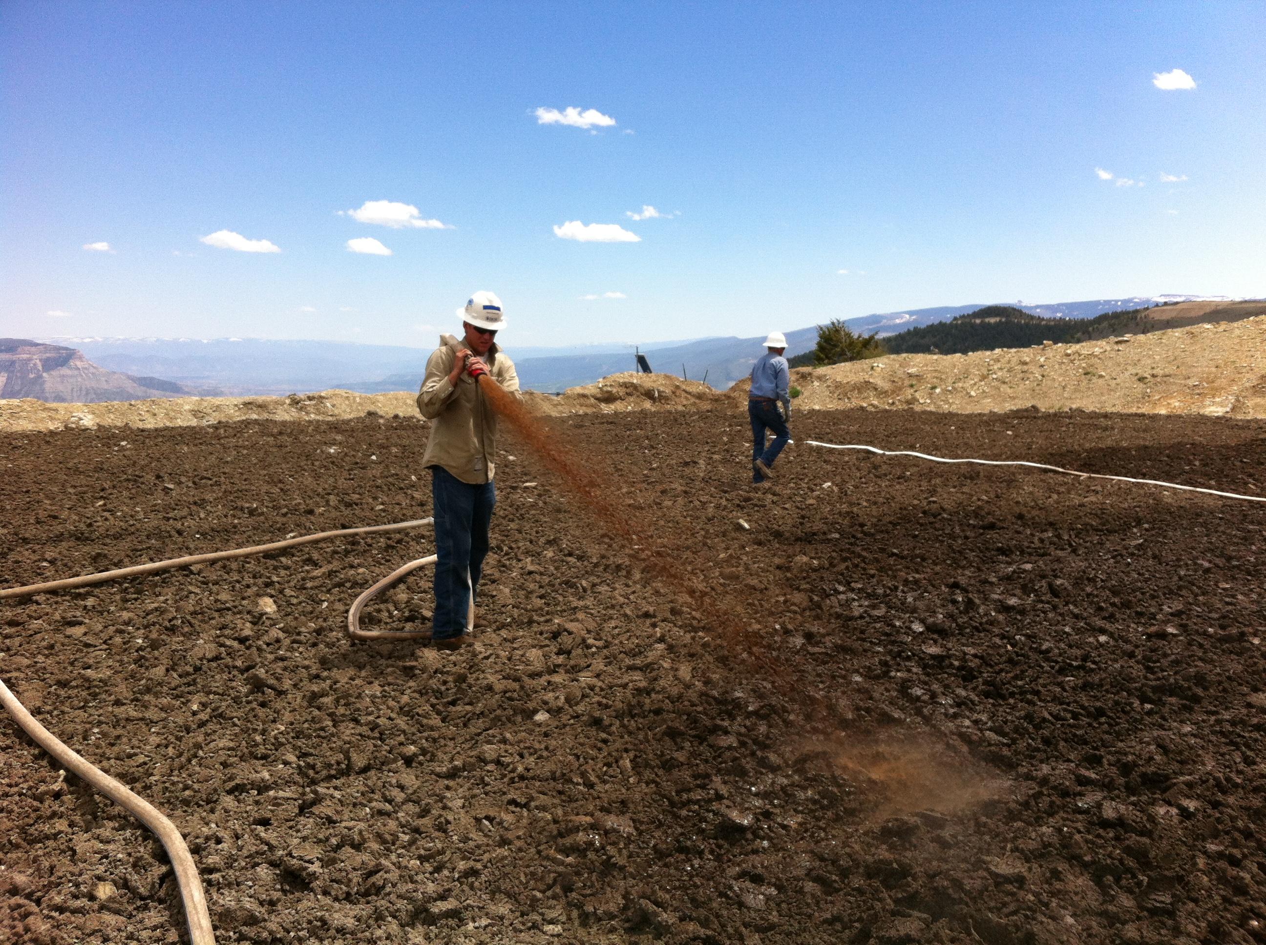 Drill Cuttings Project 2 Bioremediation Project Colorado
