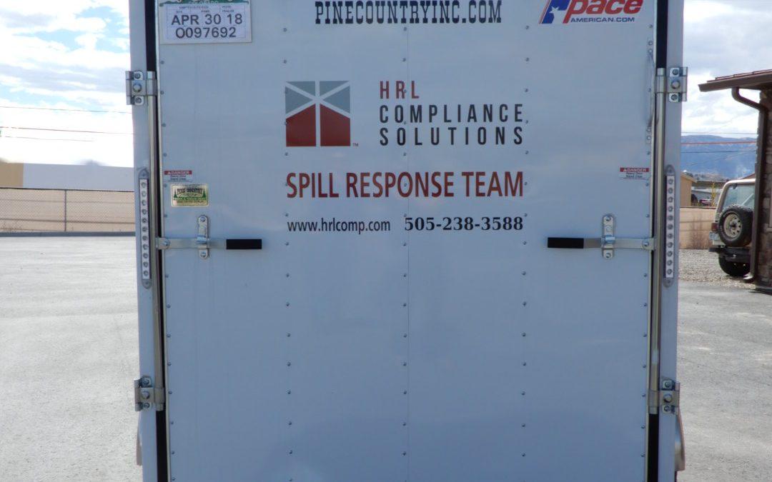 Spill Response Trailer