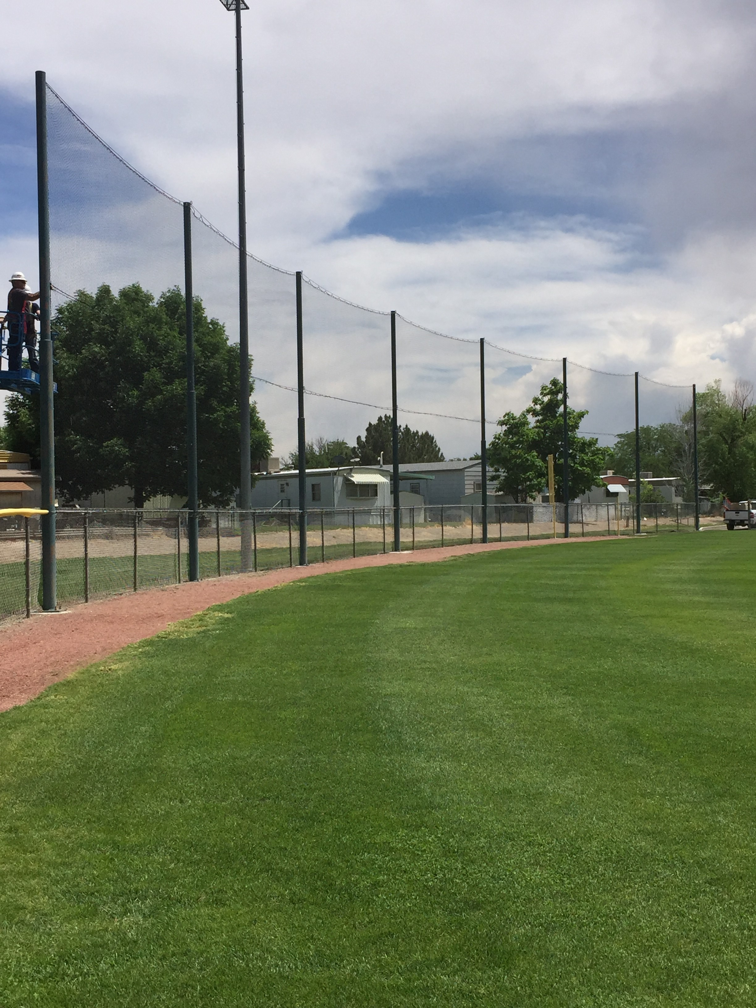 Protective Netting at City Ballpark